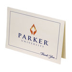 PARKER UNIVERSITY THANK YOU CARDS