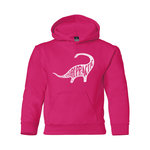"MV YOUTH ""DINOSAUR CHIRO""FLEECE HOOD"